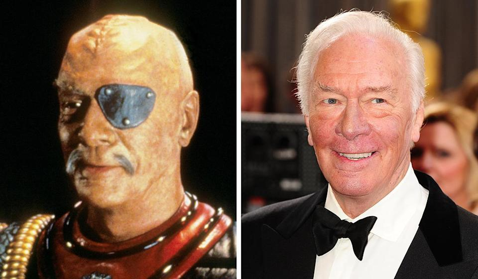<p>Back before he won an Oscar, the Canadian actor went full ham as Klingon warlord Chang in 'The Undiscovered Country'. We're guessing he refused the crazy hair.</p>