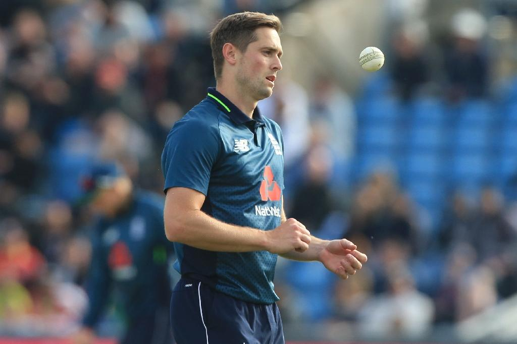 Woakes took five wickets to help England to a 4-0 series win over Pakistan on Sunday (AFP Photo/Lindsey PARNABY)