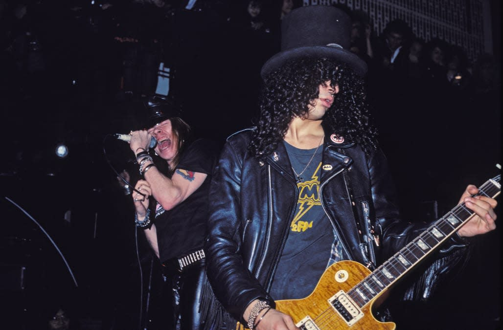 Guns N' Roses Perform At The Limelight Circa 1988
