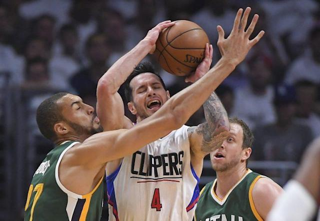 The Jazz are making life very hard for the Clippers. (AP)