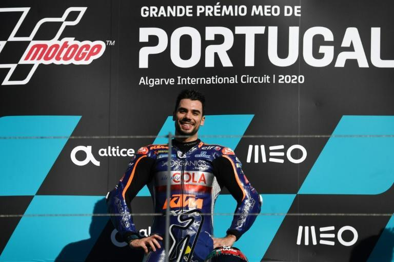 Home hope Miguel Oliveira won the Portuguese Grand Prix