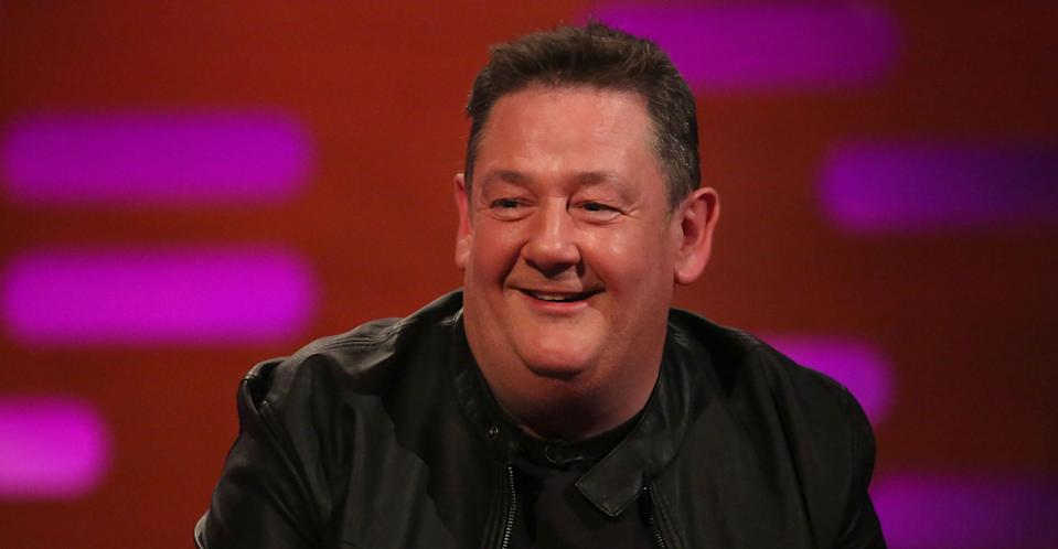 Comedian Johnny Vegas allegedly collapsed on stage Sunday night. (PA Images)