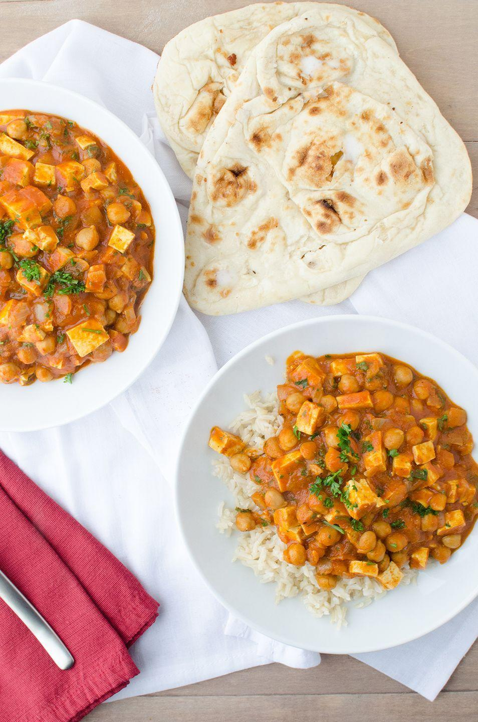 """<p>No chicken was harmed in the making of this dish.</p><p>Get the recipe from <a href=""""https://www.delishknowledge.com/slow-cooker-butter-chickpeas/"""" rel=""""nofollow noopener"""" target=""""_blank"""" data-ylk=""""slk:Delish Knowledge"""" class=""""link rapid-noclick-resp"""">Delish Knowledge</a>.</p>"""