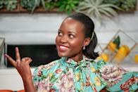 <p>Lupita's hair is simplistic and timeless with a soft curl at the ends to give it just enough volume. </p>