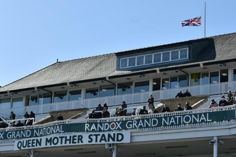 Aintree racecourse paid tribute to the late Prince Philip