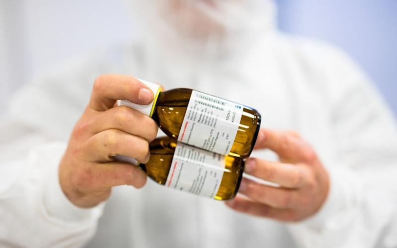 The National Institute for Health and Care Excellence said Epidyolex (pictured) was too expensive to prescribe on the NHS - Bloomberg