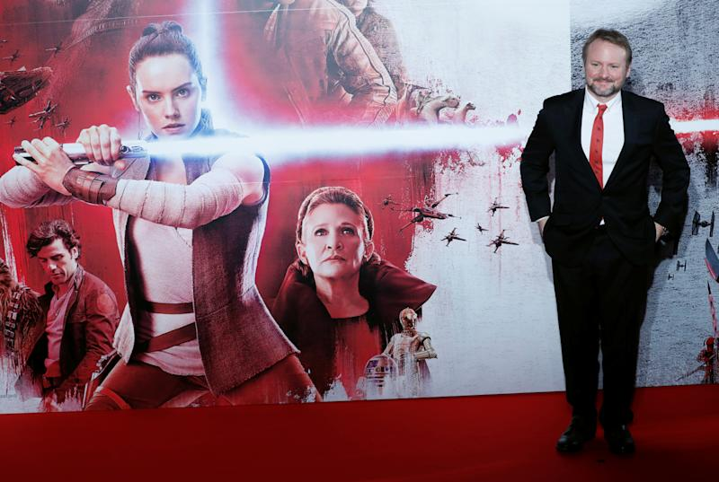 "Director Rian Johnson attends a promotional event of the movie ""Star Wars: The Last Jedi"" in Tokyo, Japan December 6, 2017. REUTERS/Kim Kyung-Hoon"