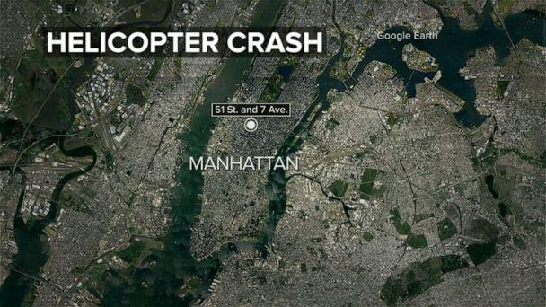 1 Dead as Helicopter crash lands on mid-town building Helicopter-crash-locator-map-abc-jc-190610_hpEmbed_16x9_608