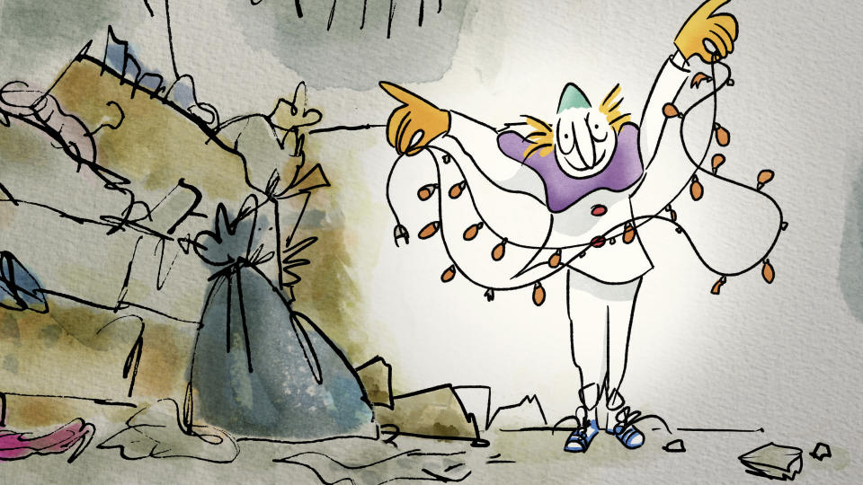 Quentin Blake's The Clown (C4)