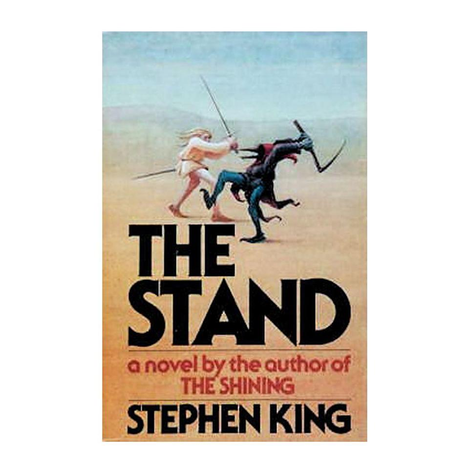 """<p><strong>$14.09</strong> <a class=""""link rapid-noclick-resp"""" href=""""https://www.amazon.com/Stand-Stephen-King/dp/0307947300/ref=sr_1_1?tag=syn-yahoo-20&ascsubtag=%5Bartid%7C10050.g.35033274%5Bsrc%7Cyahoo-us"""" rel=""""nofollow noopener"""" target=""""_blank"""" data-ylk=""""slk:BUY NOW"""">BUY NOW</a></p><p><strong>Genre: </strong>Dystopian Fiction<br></p><p>After an engineered strain of influenza meant for use in biological warfare is accidentally released, the virus spreads and kills off most of the world's human population. The remaining survivors are left to deal with the rapid dismantle of society, increased military violence, and the heavy emotional strain of the situation.</p>"""