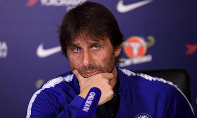 Antonio Conte believes it is tougher to manage a club like Chelsea who are expected to challenge for trophies.
