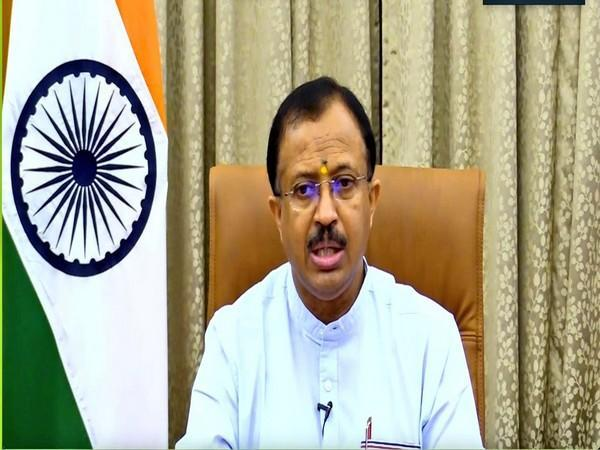 Minister of State (MoS) for External Affairs V. Muraleedharan. (Photo Courtesy: Twitter/MOS_MEA)