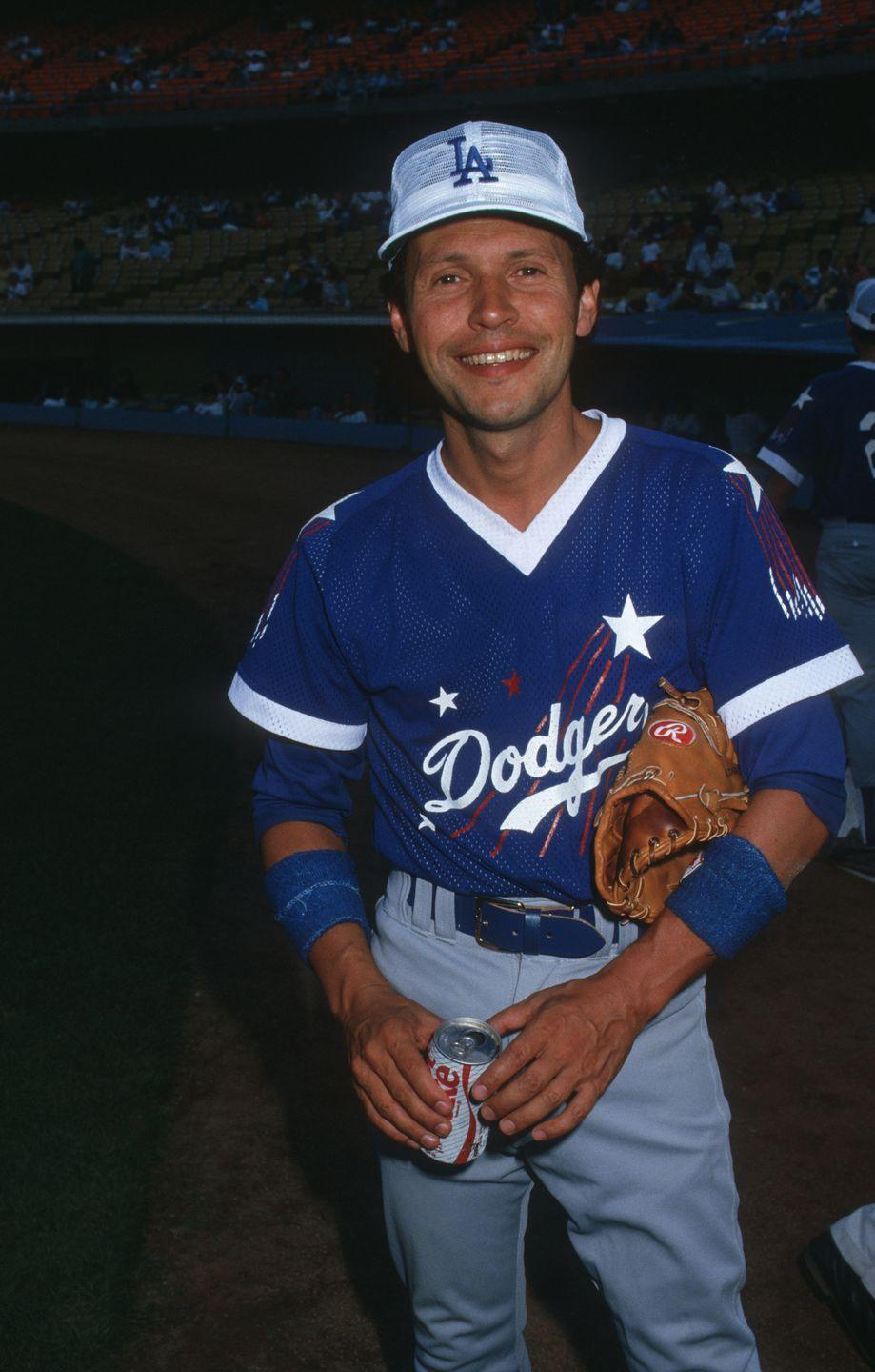 """<p>A known baseball fanatic (here he is playing in a celebrity all-star game), Billy Crystal <a href=""""https://twitter.com/herdbaseball/status/766652200974036994?lang=en"""" rel=""""nofollow noopener"""" target=""""_blank"""" data-ylk=""""slk:attended Marshall University on a baseball scholarship"""" class=""""link rapid-noclick-resp"""">attended Marshall University on a baseball scholarship</a> for one year. His baseball career ended when he had to drop out after his freshman year. </p>"""