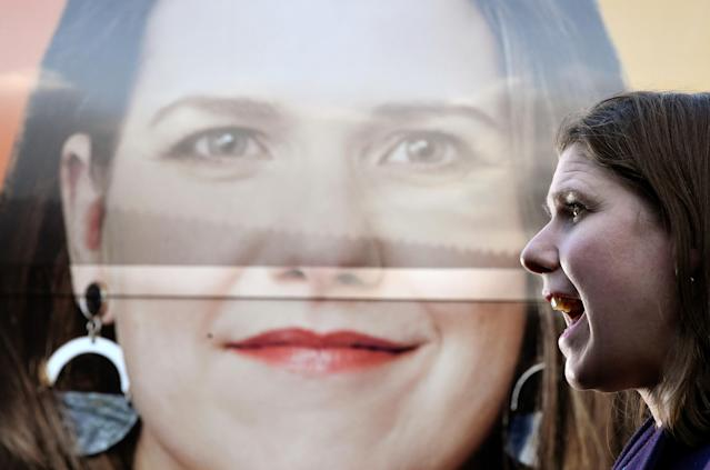 Liberal Democrat leader Jo Swinson has already made history during her career (Picture: REUTERS/Toby Melville)