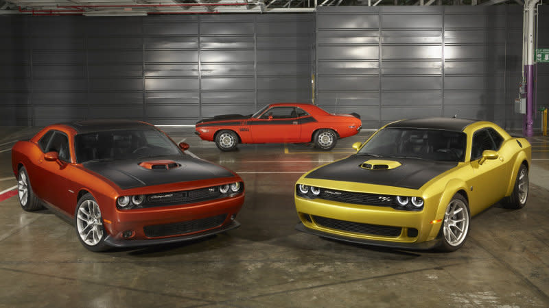 2020 Dodge Challenger Celebrates 50th Anniversary With A