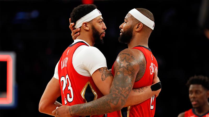 Pelicans' Anthony Davis listed as questionable to play vs. Bulls