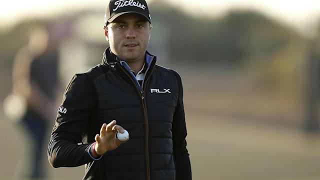Justin Thomas opened the Phoenix Open with a 7-under 64 Thursday at TPC Scottsdale. More importantly, he finished off his round without any hiccups.