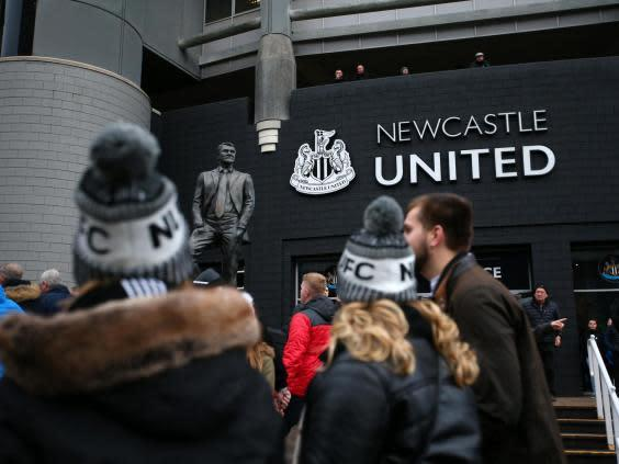 General view outside the stadium (Getty Images)