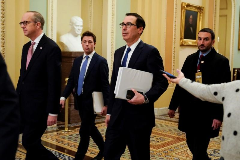 Mnuchin: Negotiators 'very close' to deal on coronavirus stimulus