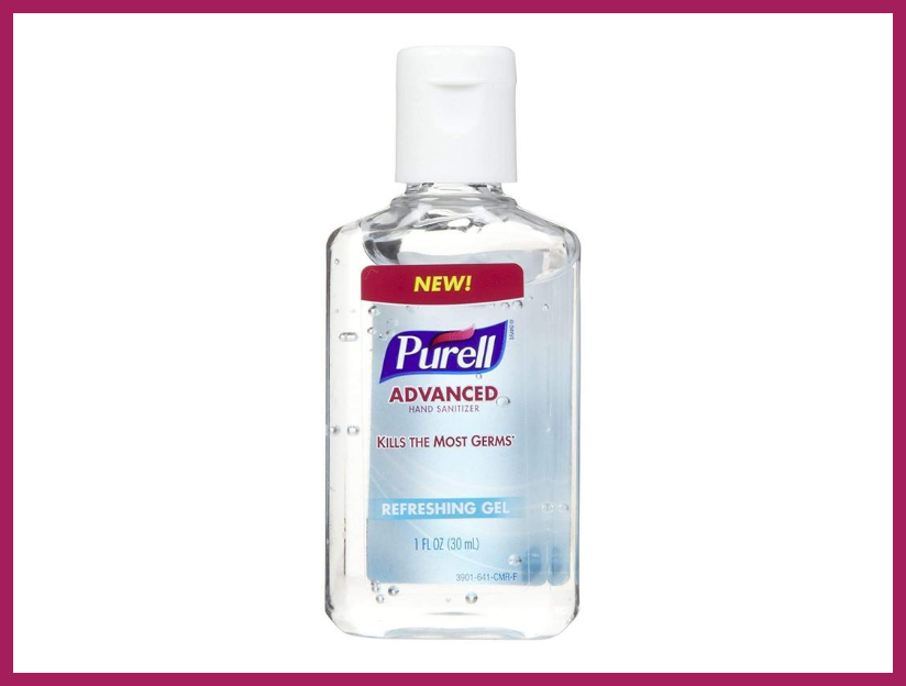 Purell Advanced Hand Sanitizer Gel, 1Oz. (Photo: Amazon)