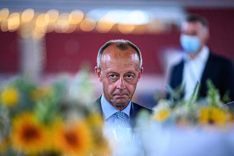 Politician Friedrich Merz, a member of the German Christian Democrats (CDU), is vying for the leadership of the party and with it a possible chancellor candidacy.