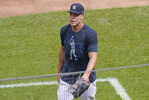 Yankees activate OF Judge; LHP Paxton done for season
