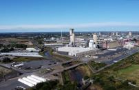 A general view of the CF industries plant in Billingham