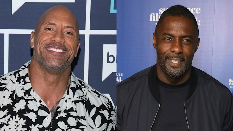 Dwayne Johnson Reveals Idris Elba's Villain in 'Fast & Furious' Spinoff -- Pic!