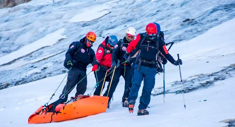The remains of a mountain climber who went missing 30 years ago is found at a mountain in Argentina.