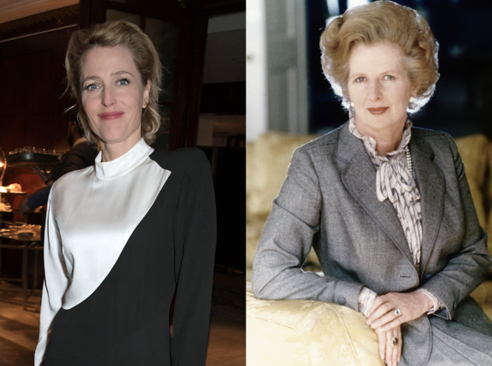 <p>Gillian Anderson will be playing Prime Minister Margaret Thatcher beginning in season 4. In real life, Thatcher earned the nickname Iron Lady after demonstrating her strong attitude toward the world when it came to dealing with politics.</p>