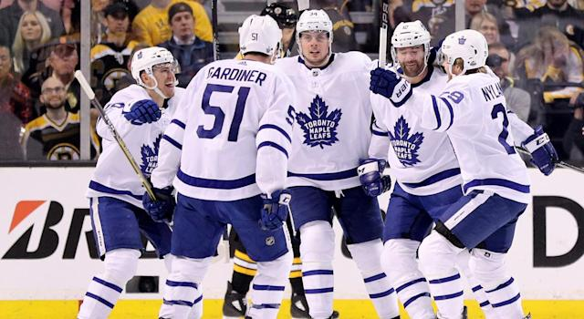 The Maple Leafs look awfully dangerous right now. (Maddie Meyer/Getty Images)