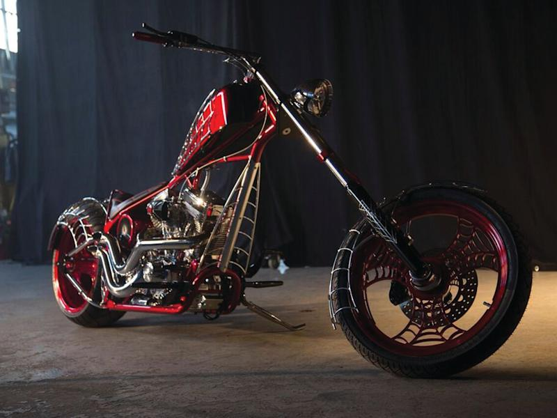 'A lot of custom builders will come up with a look and just repeat that look through their whole career. But because we build theme bikes, it's ever-changing': Pictures by 'American Chopper'