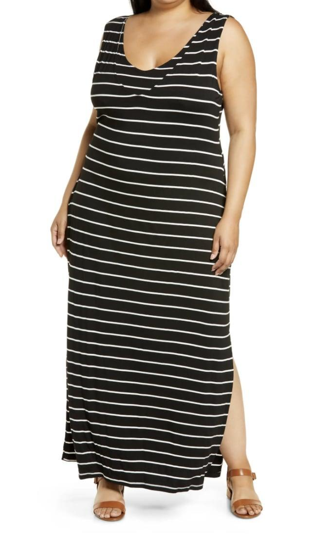 <p>This <span>Bobeau Tank Maxi Dress</span> ($43, originally $72) is the comfiest thing you'll slip into on lazy days. Wait till you see the back.</p>