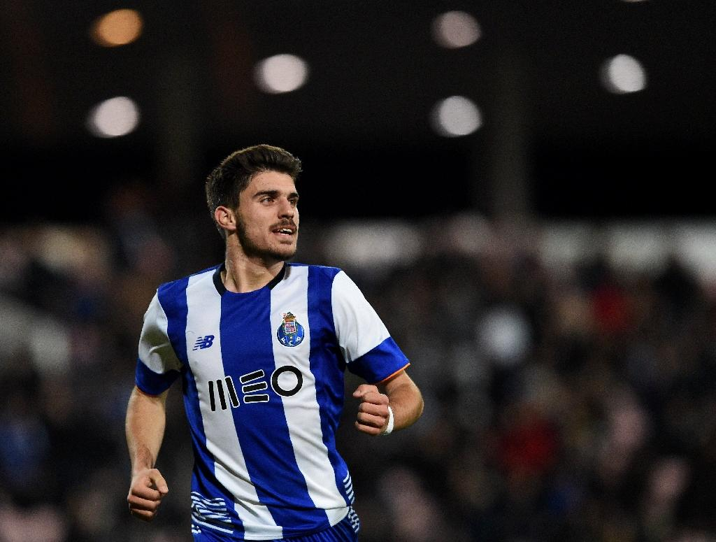Highly-rated Portugal Under-21 international Ruben Neves signed a five-year contract with Wolverhampton Wanderers' and is reunited with former Porto coach Nuno Espirito Santo (AFP Photo/FRANCISCO LEONG)
