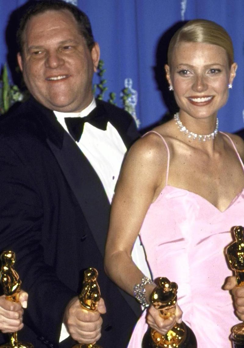 Gwyneth Paltrow has worked on a number of films with Harvey Weinstein since the early 1990s. They are pictured here together 71st Annual Academy Awards. Source: Getty