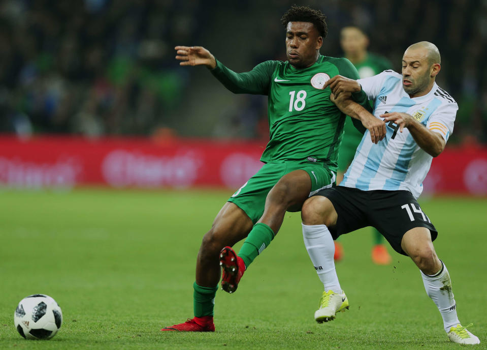 Argentina, Croatia, Nigeria and Iceland comprise the toughest 2018 World Cup group. (Getty)