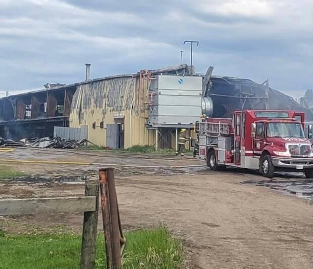 The damage to the Meadow Lake and District Arena is obvious. Fire officials say damage to the arena is extensive, noting its close to a 'total loss' scenario.