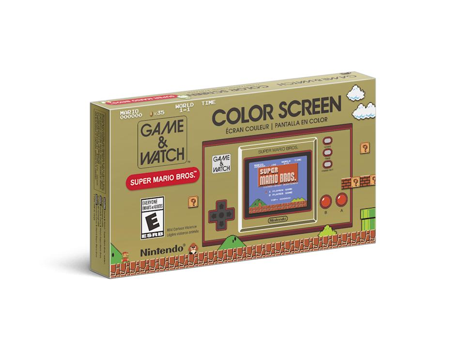 """<p><strong>Nintendo</strong></p><p>walmart.com</p><p><strong>$46.95</strong></p><p><a href=""""https://go.redirectingat.com?id=74968X1596630&url=https%3A%2F%2Fwww.walmart.com%2Fip%2F576154747%3Fselected%3Dtrue&sref=https%3A%2F%2Fwww.popularmechanics.com%2Ftechnology%2Fg37678212%2Fbest-handheld-game-system%2F"""" rel=""""nofollow noopener"""" target=""""_blank"""" data-ylk=""""slk:Shop Now"""" class=""""link rapid-noclick-resp"""">Shop Now</a></p><p>A reimagining of Nintendo's original Game & Watch system, the Game & Watch: Super Mario Bros. handheld is a love letter to fans of old-school Nintendo peripherals. While the system only contains three games: <em>Super Mario Bros., Super Mario Bros.: The Lost Levels</em>, and <em>Game & Watch: Ball</em>, those classic titles are highly enjoyable, and feel special on such retro-style hardware. </p><p>With an ultra-portable form factor, power-and-play design, and lovely retro aesthetic, the Game & Watch: Super Mario Bros. console is an excellent choice for retro Nintendo fans.</p>"""