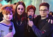 <p>The Osbournes made a <b>TRL</b> appearance together in 2002.</p>
