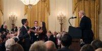 CNN says Trump has 'gone too far' and is 'un-American' after heated exchange with Jim Acosta