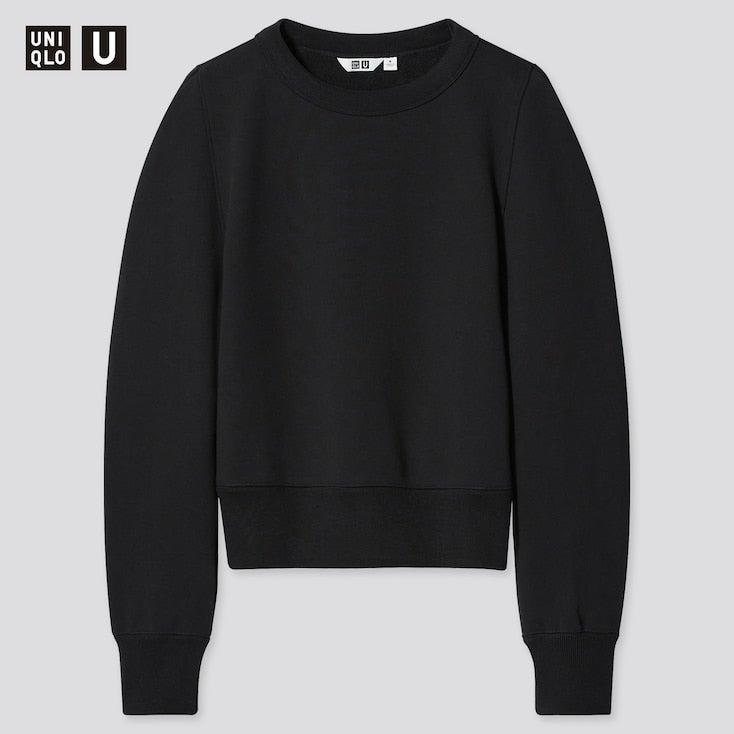 "<br><br><strong>Uniqlo U</strong> Crew Neck Long Sleeved Sweatshirt, $, available at <a href=""https://www.uniqlo.com/uk/en/product/women-uniqlo-u-crew-neck-long-sleeved-sweatshirt-437096.html?dwvar_437096_color=COL09&dwvar_437096_size=SMA001"" rel=""nofollow noopener"" target=""_blank"" data-ylk=""slk:Uniqlo"" class=""link rapid-noclick-resp"">Uniqlo</a>"