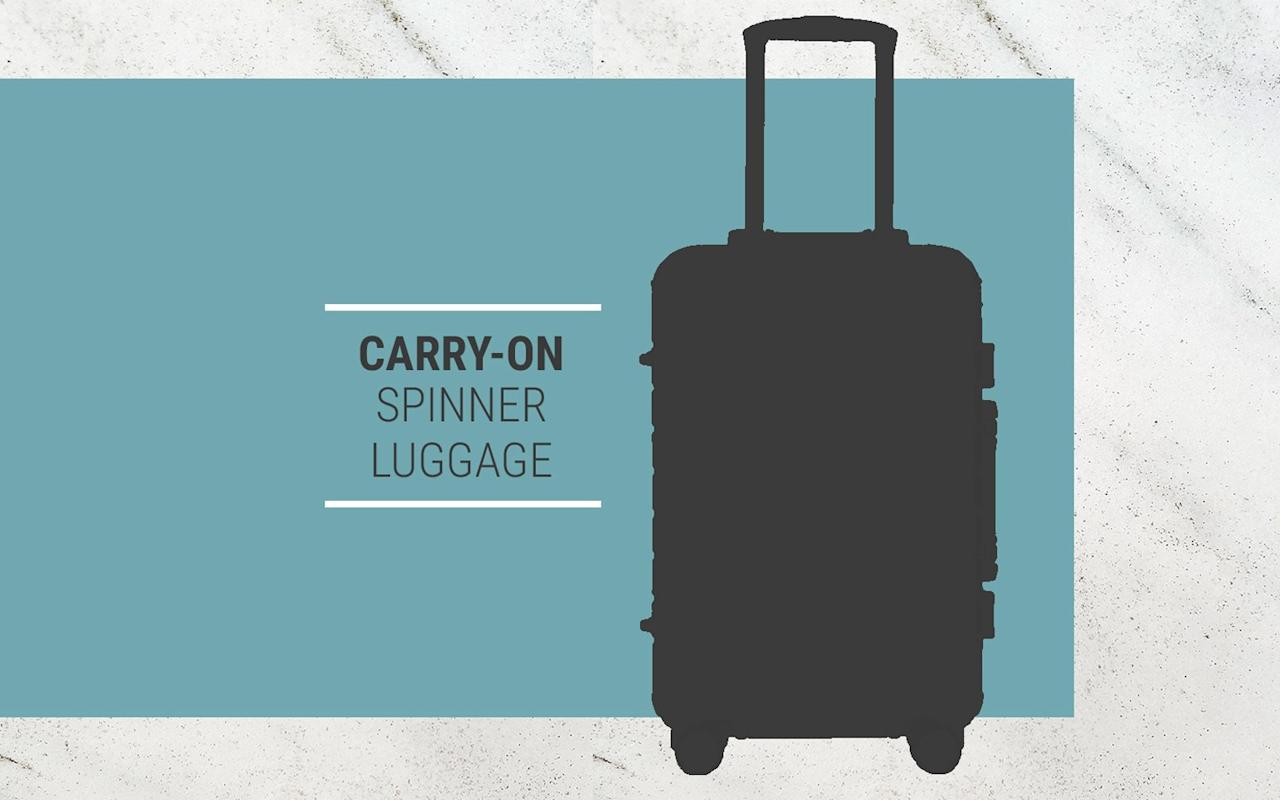 <p>The security of having your bag nearby gives you peace of mind and it speeds up the arrival process at your destination. These carry-on-sized pieces are roomy, easy to roll down airplane aisles, and they fit into most overhead bins.</p>