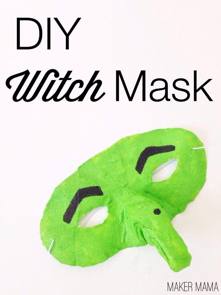 """<p>Use paper maché, gauze, and green paint to transform an ordinary plastic mask into a bewitching witch mask. </p><p><strong><em>Get the tutorial at <a href=""""https://diycandy.com/make-a-witch-mask-with-gauze/"""" rel=""""nofollow noopener"""" target=""""_blank"""" data-ylk=""""slk:DIY Candy"""" class=""""link rapid-noclick-resp"""">DIY Candy</a>. </em></strong></p>"""