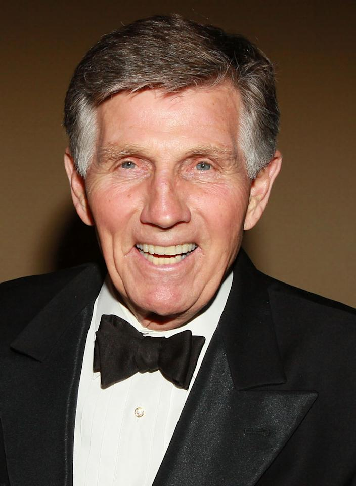 "Actor and TV host Gary Collins died October 13 of natural causes in Biloxi, Mississippi; he was 74 years old. Collins was a familiar face to TV viewers in the '60s and '70s, guest starring on shows like ""Perry Mason,"" ""The Love Boat,"" and ""Ironside."" He later went on to host the Miss America pageant from 1982 to 1990, along with a number of daytime talk shows."