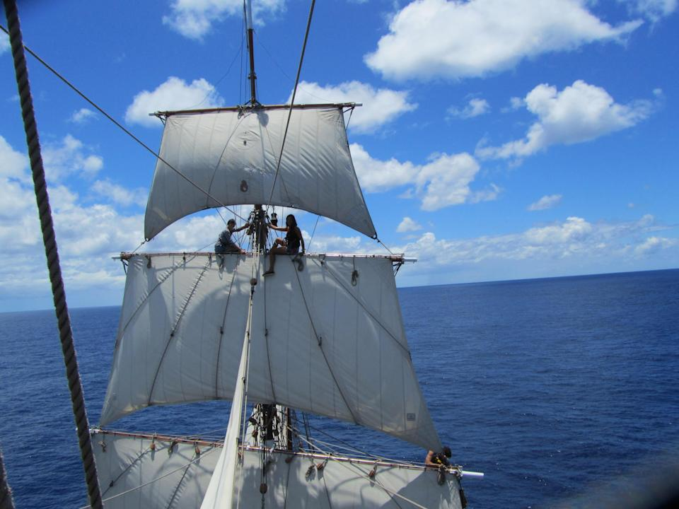 """<p>How about learning to sail – and then crossing the equator as crew on a traditional tall ship, voyaging 4,500 nautical miles from Canada to Brazil? <a rel=""""nofollow noopener"""" href=""""http://www.anotherworldadventures.com/adventures/sail-canada-brazil/"""" target=""""_blank"""" data-ylk=""""slk:Another World Adventures"""" class=""""link rapid-noclick-resp"""">Another World Adventures</a> is offering adventure seekers with around 38 days to spare the chance to help crew a 1911 vessel. The journey starts on September 4 in Lunenburg, in Nova Scotia, Canada, before reaching Salvador around October 11. This ocean voyage is open to all ages and abilities, with full instruction provided on board so you can learn from professional square rig sailors. From £2,727.<br><i>[Photo: Another World Adventures]</i> </p>"""