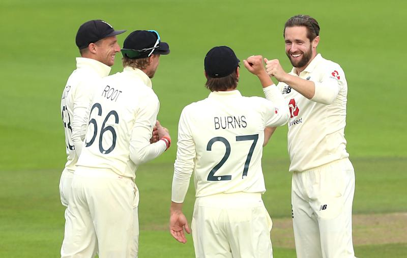 Woakes grabbed two important wickets to wrestle back some of the initiative: PA