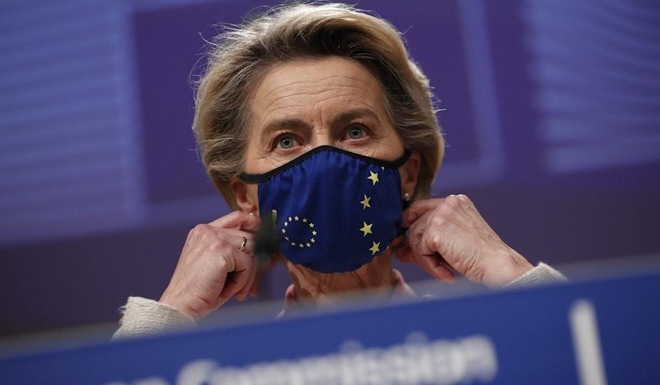 """European Commission President Ursula von der Leyen, a spokesman said, """"has stressed how important it is to work with a country like China"""". Photo: AP"""