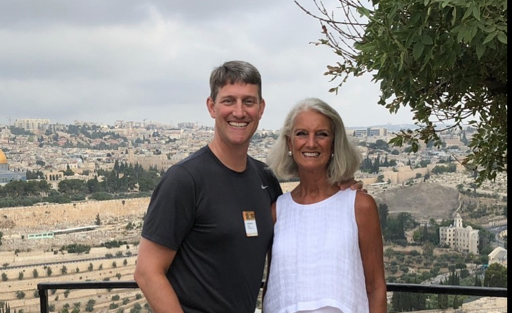 Billy Graham's grandson, Jonathan Lotz, with his mother Anne Graham Lotz ( Anne Graham Lotz/ Facebook)