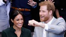 Harry and Meghan may have breached etiquette by announcing baby news at Eugenie's wedding, says expert