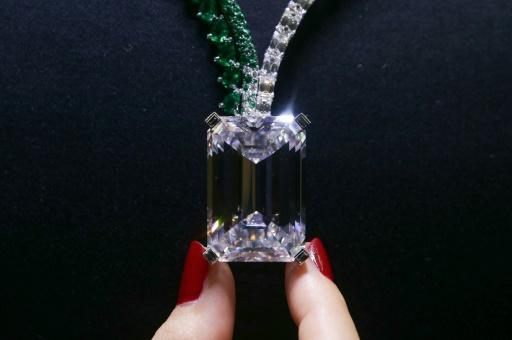 <p>Largest diamond ever auctioned to go under hammer in Geneva</p>